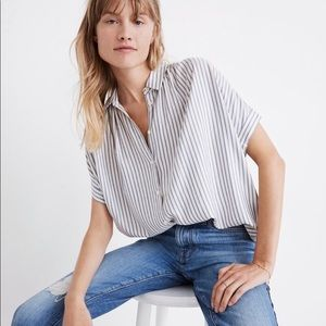 Madewell Central Shirt in Dalton Stripe